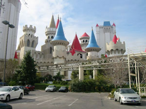 USA, Las Vegas, casino Excalibur