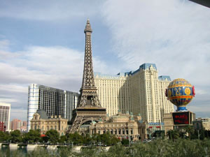 USA, Las Vegas, casino Paris